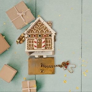 Juicy Couture Ginger Bread House Charm